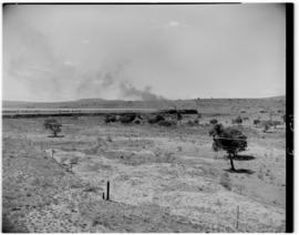 Transkei, 5 March 1947. Royal Train pulled by SAR Class 19D locomotives.