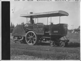 Naboomspruit - Singlewood roadrail line, circa 1924. New reversible tractor built in Johannesburg...
