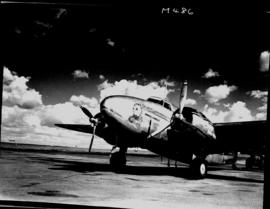 Johannesburg, circa 1941. SAA Lockheed Lodestar 'Daniel Lindley' at Rand Airport. Serial number r...