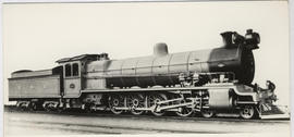 SAR Class 15 No 1563 built by the North British Loco in 1913.