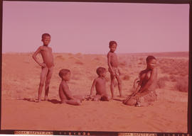 Kalahari. Bushman children.