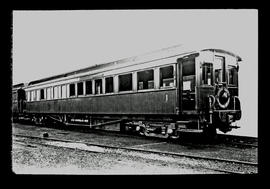 SAR observation car Type C-18 No 501 used on the Union Limited - Johannesburg to Cape Town. Earli...