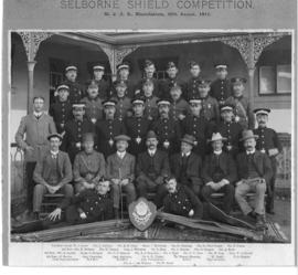 Bloemfontein, 30 August 1911. St John Ambulance 'Selbourne' Shield competition.