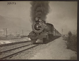 "Cape Town, 1926. SAR Class 15A ""The Limited"" leaving."