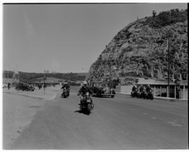 East London, 3 March 1947. Motorcade arrival at Buffalo Harbour.