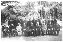 Cape Town, March 1898. South African railway officers' conference.