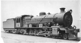 SAR Class 12A No 2131 built by North British Loco in 1929.