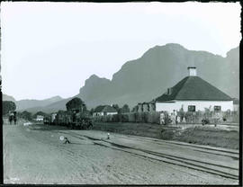 Paarl district. Train at Simondium station.