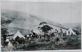 Grahamstown district. Surveying at Broekhuizens Poort. (from album)