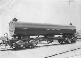 CSAR type K water tank wagon No 2463 later SAR type 8X-1 No 40104.
