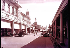 """Kimberley, 1932. Business street."""