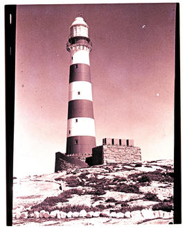 Dassen Island, 1978. Lighthouse.