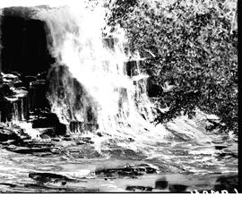 Umtata district, 1940. Waterfall.