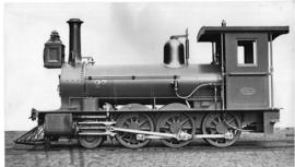 1875. CGR No 27 manufactured by Beyer Peacock.