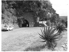 """Waterval-Boven, 1970. Eastern end of old tunnel."""