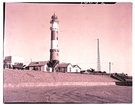 Swakopmund, South-West Africa, 1961. Lighthouse.
