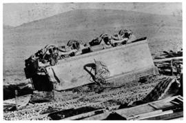 Hex River Pass, 10 September 1914. Train accident in which eight troops were killed and 96 injured..
