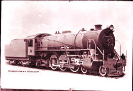 SAR Class 16DA No 869, built by Hohenzollern Works No's 4653-4658 in 1928.