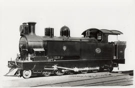 NGR Dubs 'B' No 250 built by North British Loco Co in 1904, later SAR Class G No 197.