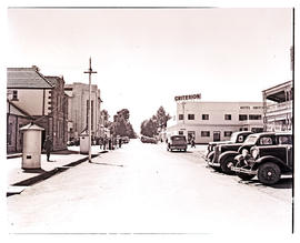 """Aliwal North, 1938. Business district."""