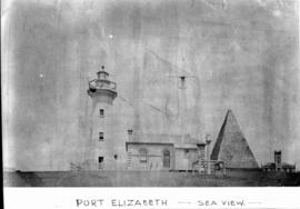 Port Elizabeth, 1948. Donkin Reserve lighthouse.
