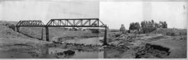Standerton, January 1945. Bridge over Vaal River repaired after accident on 11 January.