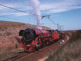 Bronkhorstspruit, 1981. SAR Class 26 No 3450 'Red Devil'. [Jan Hoek]