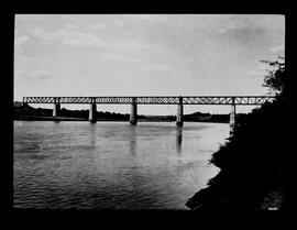 Aliwal North. Railway bridge over the Orange River.