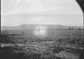 Vryheid district, 1923. Hlobane mountain.