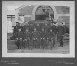 Cape Town. Alfred Docks Fire Brigade. (Shephard & Co, Cape Town)