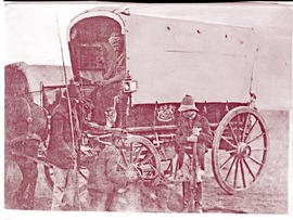 Prince Alfred's travelling coach during tour.