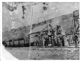 12 August 1879. First train from Port Elizabeth to Middleton.
