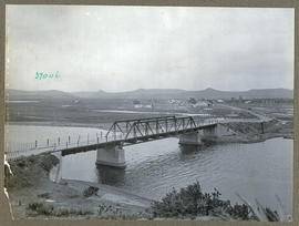 """Mossel Bay district, 1925. Bridge over Little Brak River."""