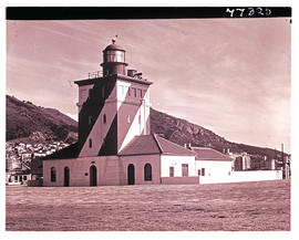 Cape Town, 1978. Green Point lighthouse.