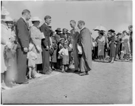 Umtata, 5 March 1947. Royal Family on walkabout.