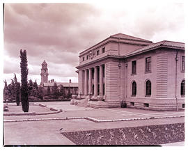 """Bloemfontein, 1938. Appeal court and government buildings."""
