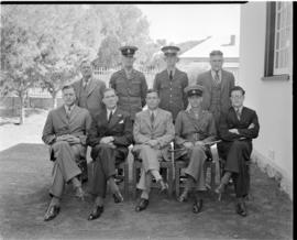 Bethulie, January 1940. Bethulie. Magistrate's staff.