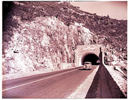 Paarl district, 1949. Du Toitskloof tunnel.