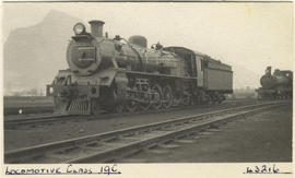 Cape Town, 1935. SAR Class 19C No 2640 departing.