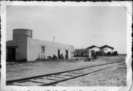 Nahariya, Palestine, circa 1944. The Az-zib depot of the British War Department seen from the north.