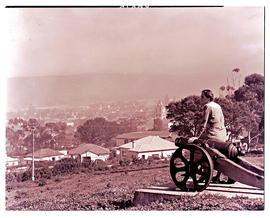 """Uitenhage, 1947. View from Cannon Hill."""