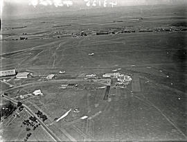 Johannesburg, 1935. Rand airport. Aerial view.