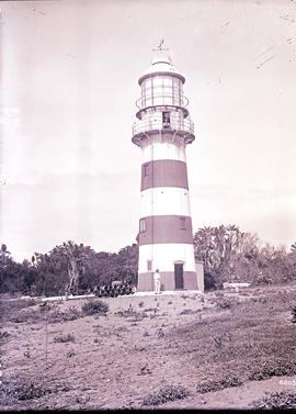 Amanzimtoti district. Greenpoint lighthouse at Clansthal.