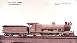 NGR 'Hendrie D' No 334 built by North British Loco Works No's 18829-18833 in 1909. Later SAR Cla...