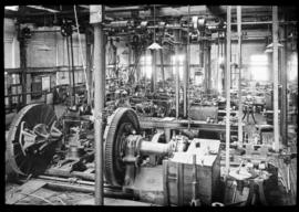 Bloemfontein. Brass finishing shop at locomotive workshops.