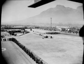 Cape Town, 17 February 1947. Parade at Table Bay Harbour.