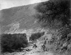 Page 06. Near Graaff-Reinet. Rock excavation at Blauw Krantz.