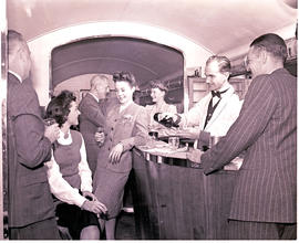 """1946. Blue Train Type B-3 lounge car."""