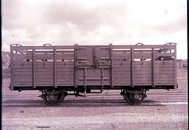 Pretoria. CSAR short open high sided wagon built locally, later SAR type H-1.