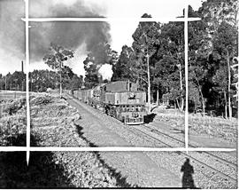 Vryheid district, 1946. SAR Class GL hauling coal.
